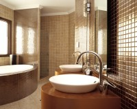 bathroom tile install