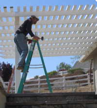 patio cover install