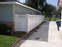 vinyl fence install
