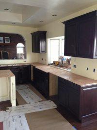 quartz counter top install